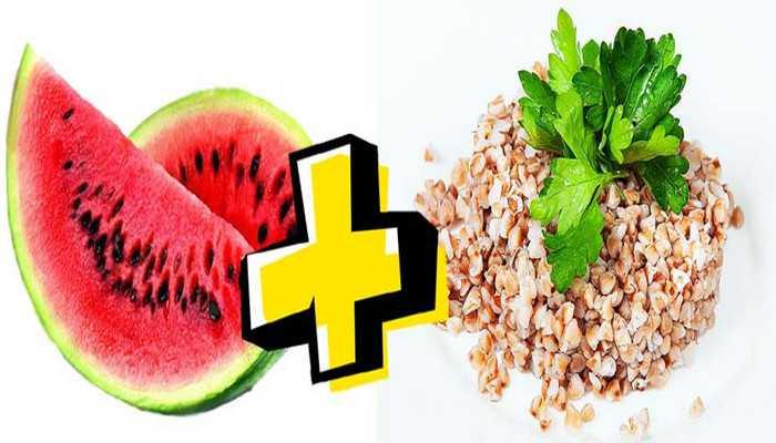 Арбузно белковая диета